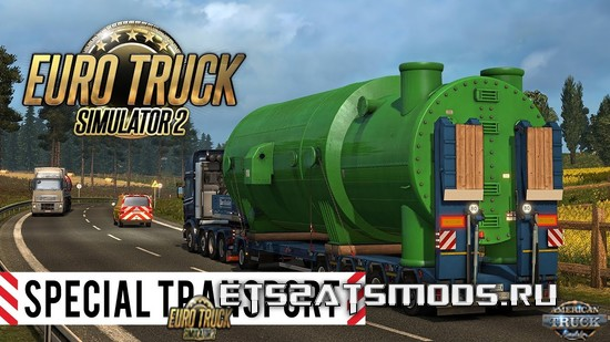 ETS2 Special Transport DLC Trailer