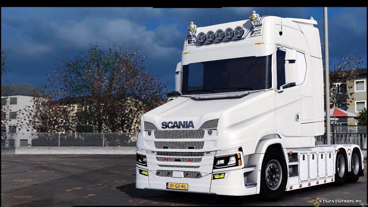 Грузовик Scania T Next Gen