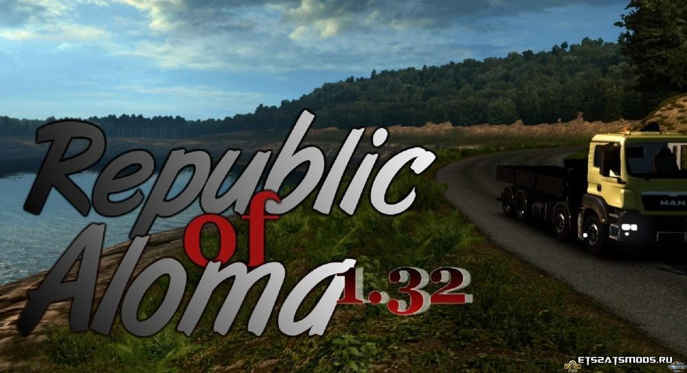 Карта New Republic of Aloma 1.32 Full version