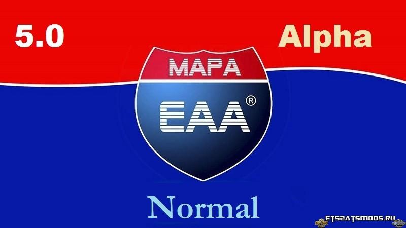 Карта Бразилии «EAA Normal + BUS» v5.0.8 - 15.12.18