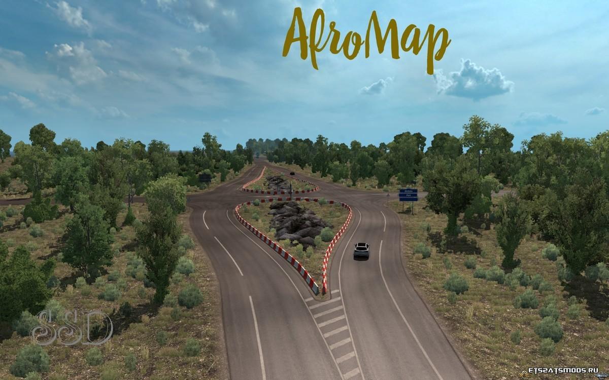 Карта Африки v1.7