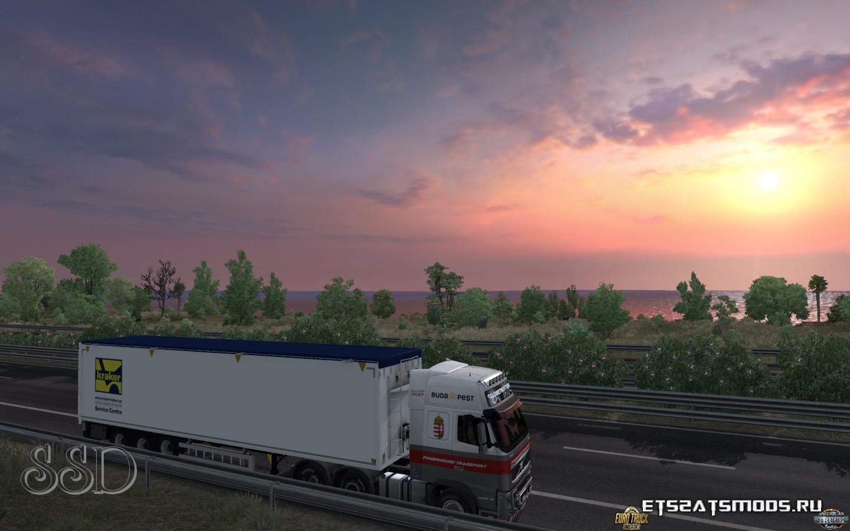 MHAPro. Закат в Италии
