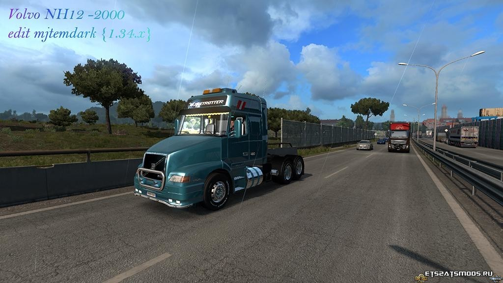 Грузовик VOLVO NH12 2000 EDIT 1.34.X